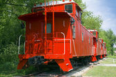 Caboose — Stock Photo