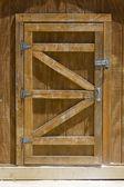 Shed Door — Stock Photo