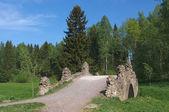 Pont dans le parc — Photo