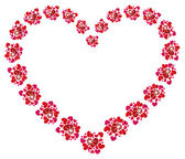 Concetto di amore, bellissimo cuore — Vettoriale Stock