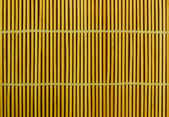Close up of bamboo curtain pattern material — Photo