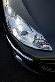 Closeup of car head light. — Stock Photo