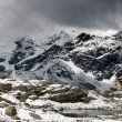 South Tirol Alps Panorama with Dusseldorfer Hut — Stock Photo