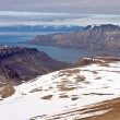 Isfjorden Fjord on the Svalbard Archipelago — Stock Photo