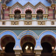 Stock Photo: Colourful Facade of Jubilee Synagogue