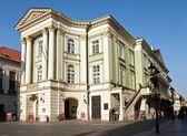 O teatro estates em praga — Fotografia Stock