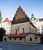 Old New Synagogue in Prague — Stock Photo