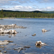 Stock Photo: Lake in Northern Sweden (Lapland)