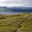 The Kungsleden Footpath — Stock Photo