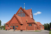 Eglise de kiruna en été — Photo