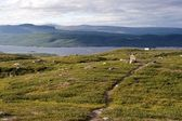 The Kungsleden Footpath — Foto de Stock
