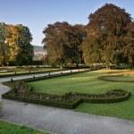 Castle Gardens in Cesky Krumlov, Czech Republic — Stock Photo