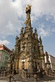 The Holy Trinity Column in Olomouc — Stock Photo