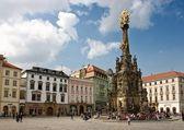 The Holy Trinity Column in Olomouc — Stock Photo