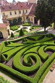 Vrtbovska Garden, Prague, Czech Republic — Stock Photo