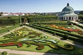 Chateau Garden in Kromeriz, Czech Republic — Stock Photo