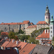 View of Cesky Krumlov Castle — Stock Photo