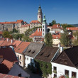 Stockfoto: View of Cesky Krumlov Castle