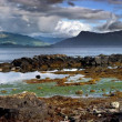 Panoramatic Shot of Scotland Seashore - Foto Stock