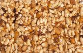 Nut texture — Stock Photo
