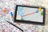 Gps navigator — Stock Photo