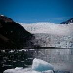 Glacier and ice — Stock Photo