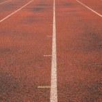 Running Track Lanes — Stock Photo