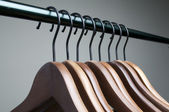 Cloth hanger — Stock Photo