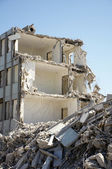 Building demolished — Stock Photo
