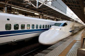 Japan bullet train — Stock Photo