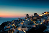 Sunset at Oia — Stock Photo