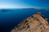 Agean sea view from Santorini island — Stock Photo