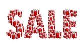 Discounts, sale & gifts — Vector de stock