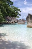 Paradise coast — Stock Photo