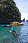 Gemiler adası'nda yürüyüş — Stok fotoğraf