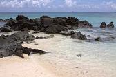 небольшой остров в индийском океане — Стоковое фото