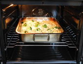 Baked pasta — Stock Photo