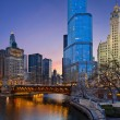 Chicago riverside. — Stock Photo #11011652