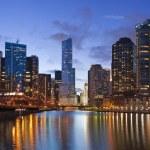 Chicago riverside. — Stockfoto #11096673