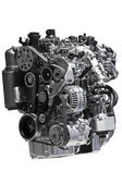 Diesel car engine — Stock Photo