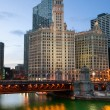 Chicago riverside — Stock Photo #11110931
