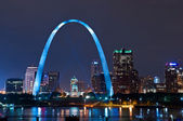City of St. Louis. — Stock Photo