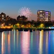 Stock Photo: Milwaukee firework.