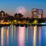 Milwaukee firework. — Stock Photo