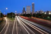 Чикаго Лейк Шор Драйв. — Стоковое фото