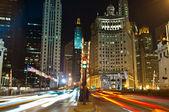 在芝加哥的密歇根大道. — 图库照片
