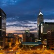 Indianapolis skyline at sunset. — Stock Photo #11165419