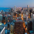 stad van chicago — Stockfoto