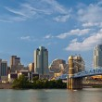Cincinnati skyline. — Stock Photo #11165866