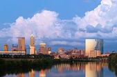 Indianapolis skyline. — Stock Photo